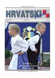 37. broj 14. rujna - Croatica Kht.