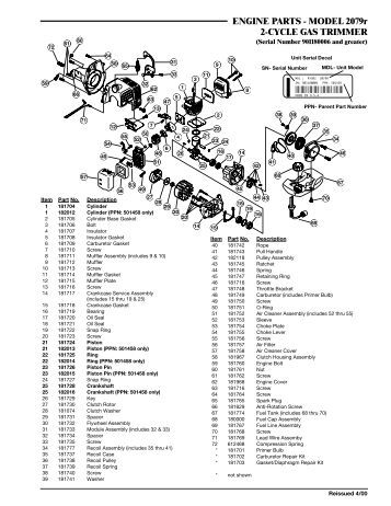 Toro Gas Trimmer Parts Diagram Toro Carburetor Diagram
