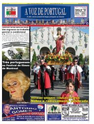 Nobre e radiosamente celebrada - A Voz de Portugal