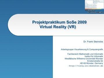 Münster 3D - VisCG - Westfälische Wilhelms-Universität Münster