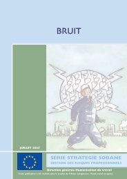 Bruit - Service public fédéral Emploi, Travail et Concertation sociale