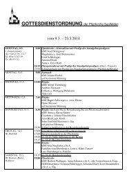 vom 11.8. – 25.8.2013 - Pfarre Saalfelden