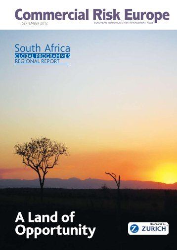 Global Programmes Special Report: South Africa - European Risk ...