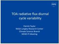 2013 NEWS mtg_Taylor.pdf - NEWS (The NASA Energy and Water ...