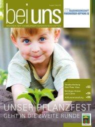 Unser Pflanzfest - Baugenossenschaft Finkenwärder-Hoffnung eG