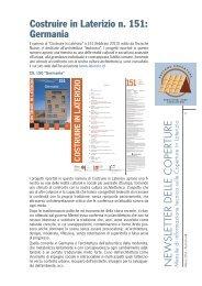 Costruire in Laterizio n. 151: Germania - Coperture in Laterizio
