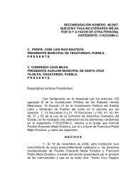 recomendación número: 49/2007. quejoso: paulino everardo mejia ...
