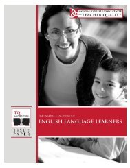 Preparing Teachers for English Language Learners