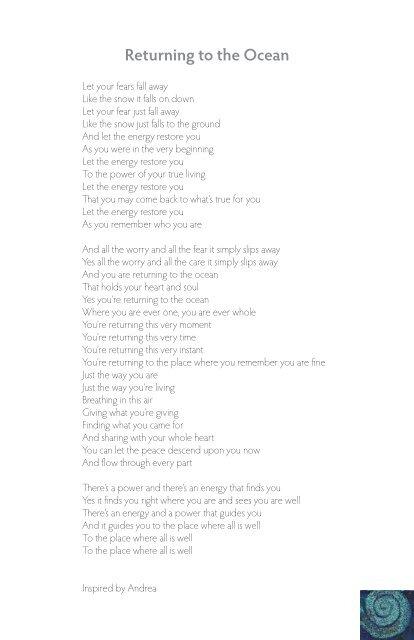 Lyrics - InnerHarmony