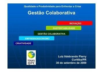 Qualidade e Produtividade para Enfrentar a Crise - Movimento ...