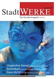 Stadtwerke Magazin 02|2010 - Stadtwerke Lippstadt GmbH