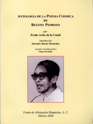 ANTOLOGIA DE LA POESIA COSMICA DE REGINO PEDROSO por ...