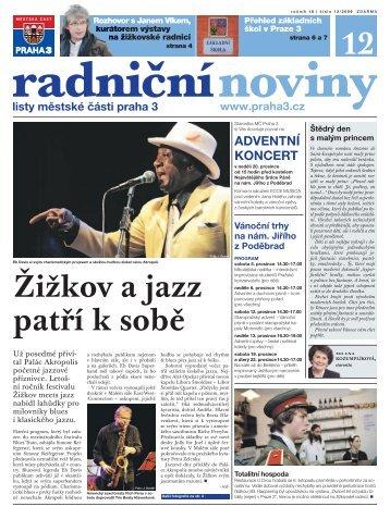 Radniční noviny - prosinec 2009 - Praha 3