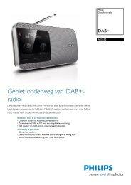 AE5252/12 Philips Draagbare radio