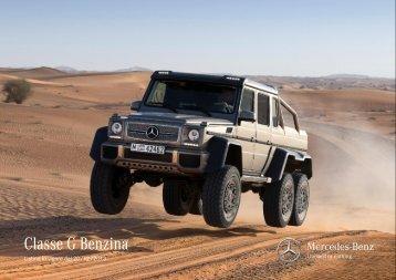 Classe G Benzina - video - Mercedes-Benz Italia