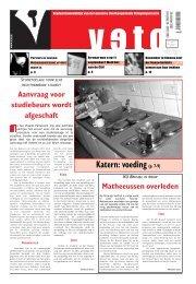 Katern: voeding (p. 7-9) - archief van Veto
