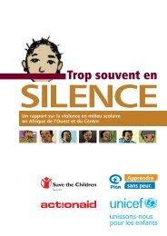 Trop souvent en silence - Plan International