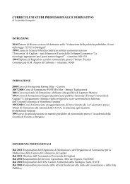 curriculum uccheddu per sito - Camera di Commercio