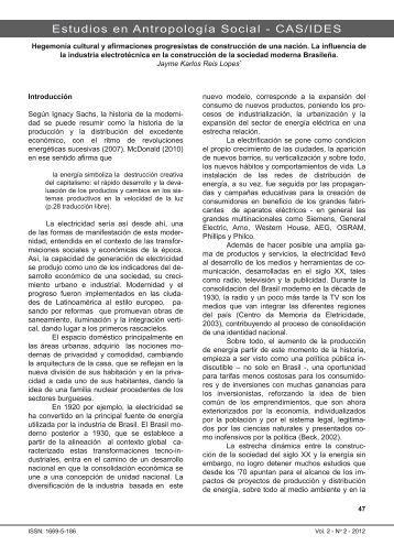 Jaime Karlos Reis Lopes - Centro de Antropología Social - IDES