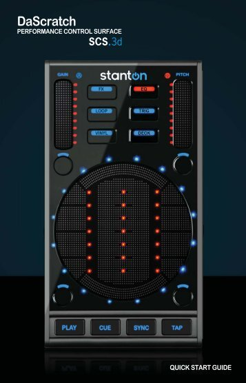 View Stanton SCS.3D Quick Start Guide