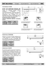GEZE TS 3000 - Rbs-beschlaege.ch