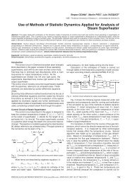 Use of Methods of Statistic Dynamics Applied for Analysis of Steam ...