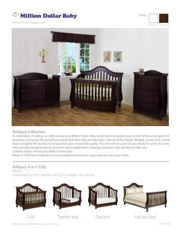 Ashbury Collection - Million Dollar Baby