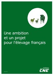 Livre Blanc CNE JV 2013 - Institut de l'Elevage