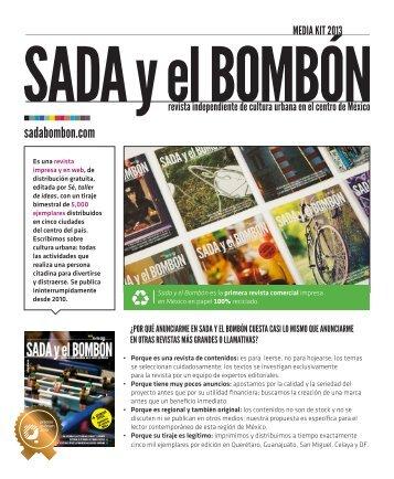 MEDIA KIT 2013 - Sada y el bombón