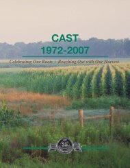 CAST 1972-2007 - Council for Agricultural Science and Technology