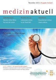 Gesundheitsmagazin November 2013 / PDF, 3.21 MB - Klinik Linde