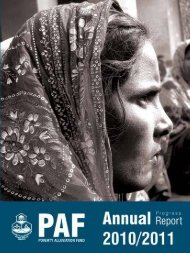 Annual Report 2011 - Poverty Alleviation Fund, Nepal