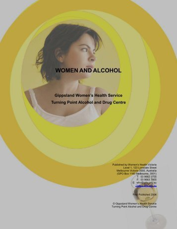 Women and Alcohol - Ishar Multicultural Women's Health Centre