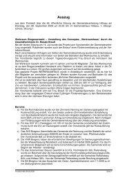 Protokoll 48b 08-09-2009 - Hittisau
