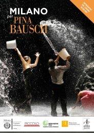 Milano per Pina Bausch - programma completo - Elfo Puccini
