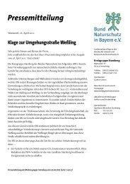 Pressemitteilung - Bund Naturschutz in Bayern e.V. Kreisgruppe ...