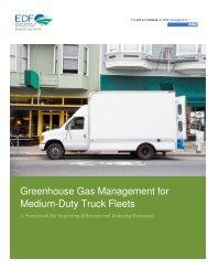 Greenhouse Gas Management for Medium-Duty Truck Fleets [PDF]