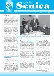 Február 2011 číslo Živió, pani učiteľka Sčítanie 2011 ... - Mesto Senica