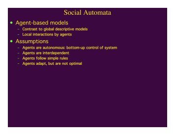 Social Automata
