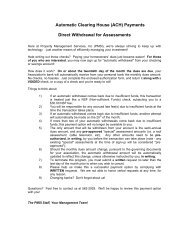 authorization agreement for direct payments (ach debits) - PMSI