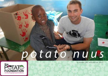 UITGAWE 26: AUGUSTUS 2013 - The Potato Foundation
