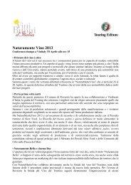 Naturamente Vino 2013 - Azienda per il Turismo Rovereto e ...