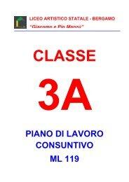 3A - Liceo Artistico Statale di Bergamo