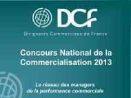 Présentation du CNC 2013 - DCF