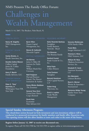 Wealth Postcard - NMS Management