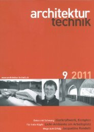 Architektur Technik, 9 2011