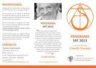 SAT 2013 - Claudio Naranjo