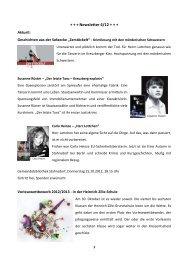 Newsletter 4/12 - Stahnsdorf