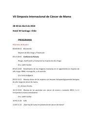 VII Simposio Internacional de Cáncer de Mama