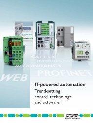 ITpowered Automation Richtungsweisende Steuerungstechnik und ...